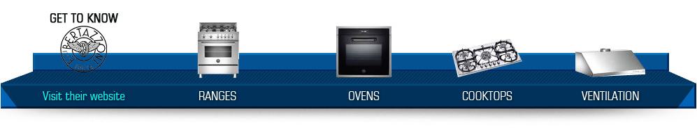Ranges - Ovens - Cooktops - Ventilation
