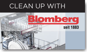 Clean Up with Blomberg Dishwasher Mail In Rebate