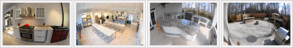 Fully Functioning, Indoor & Outdoor Kitchens